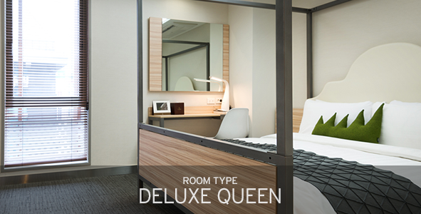 room type deluxe queen