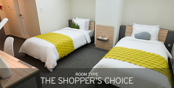 room type the shopper's choice